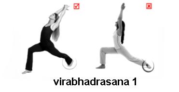 virabhadrasana- 1