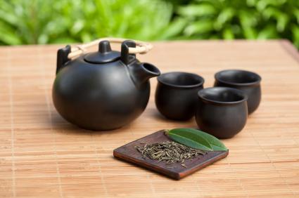 הכנת תה גינגר